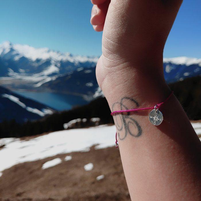 Mini Bergfex Armband Berge Sonne