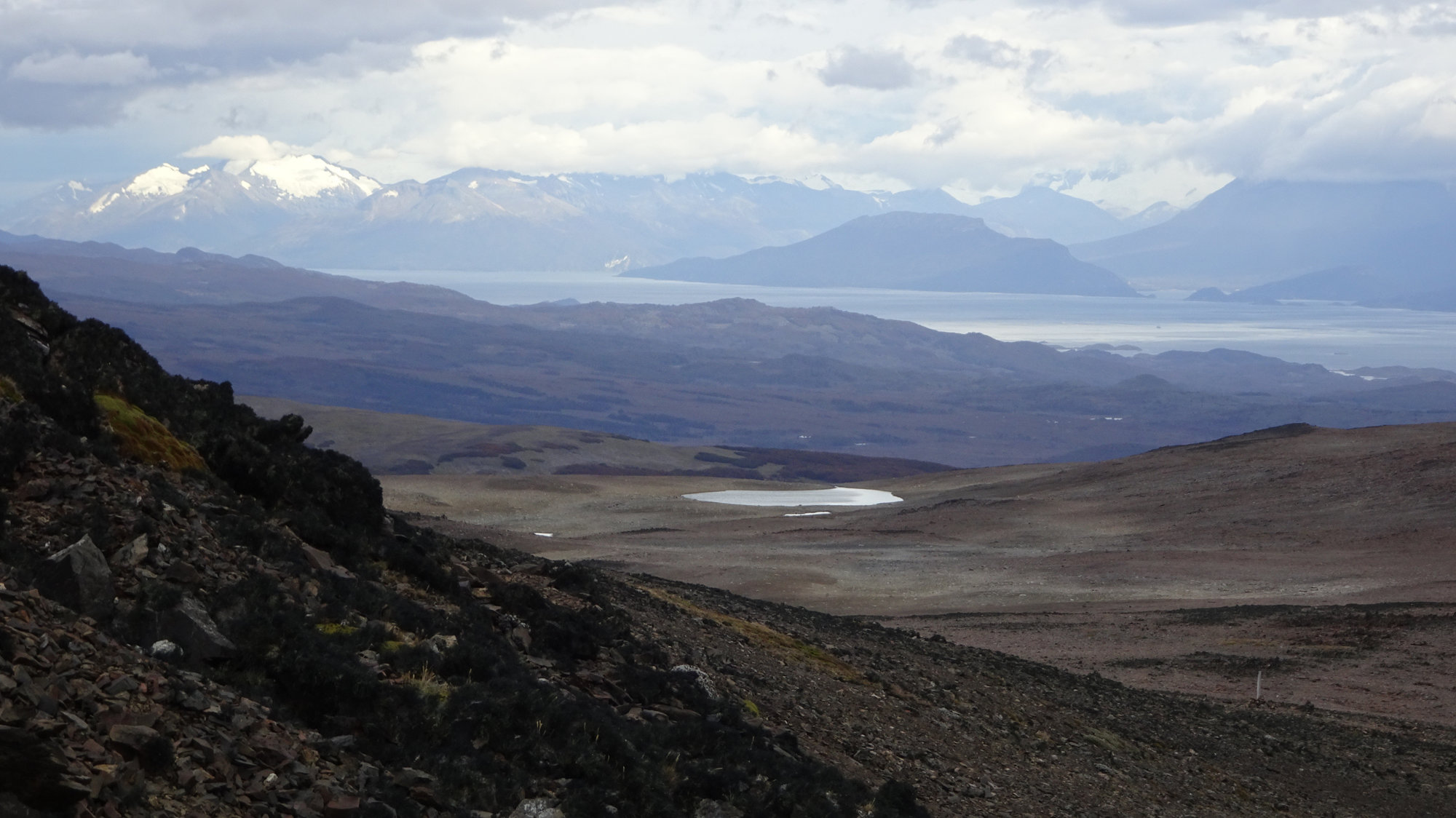 Circuito Dientes, Isla Navarino, Chile, Trekking, Wanderung