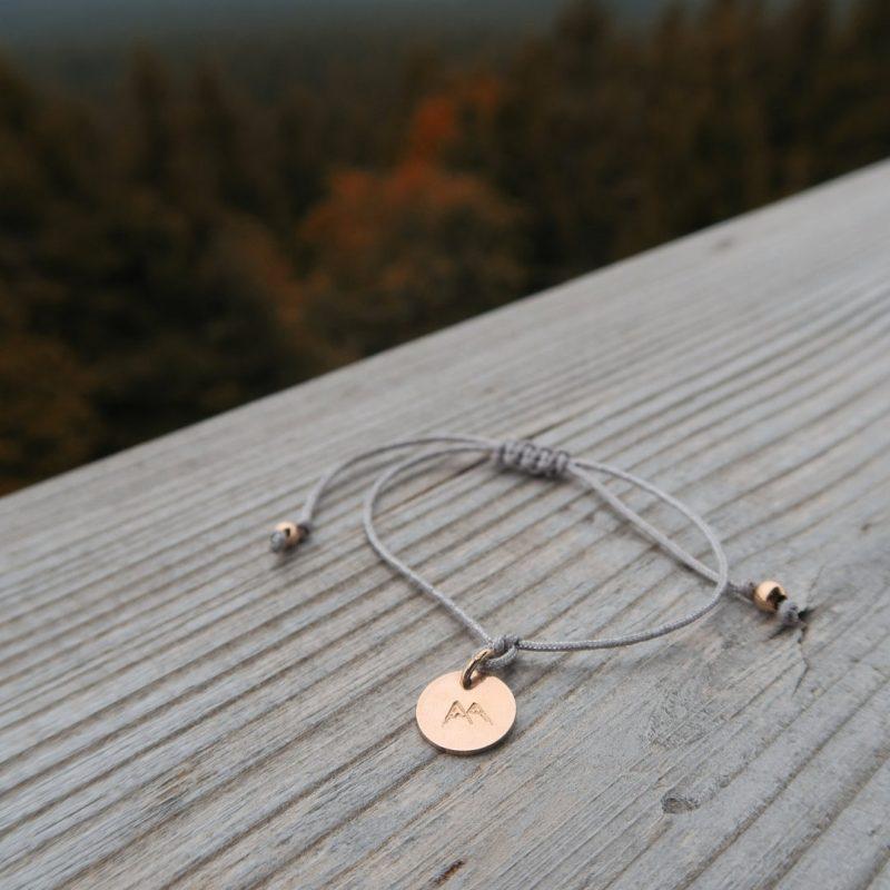 Fjella Mini-Bergfex Armband Sonnenberg Rosévergoldet Rennsteig Instagram