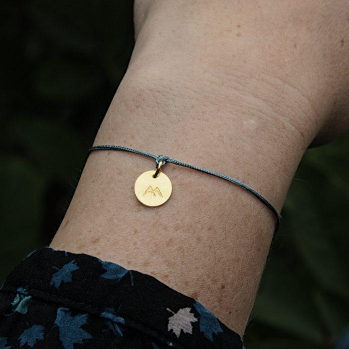 Fjella_Bergfex Mini Armband Vergoldet Schneeberg Vergoldet 2