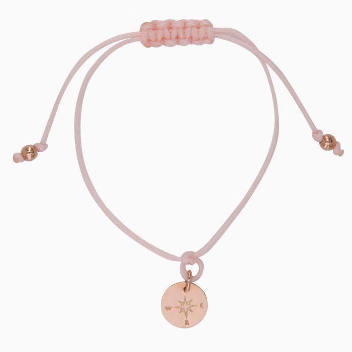 Mini-Bergfex Armband Rosévergoldet Rosa Kompass Webseite 2020