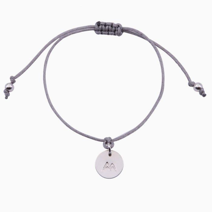 Mini-Bergfex Armband Silber Grau Schneeberg Webseite 2020