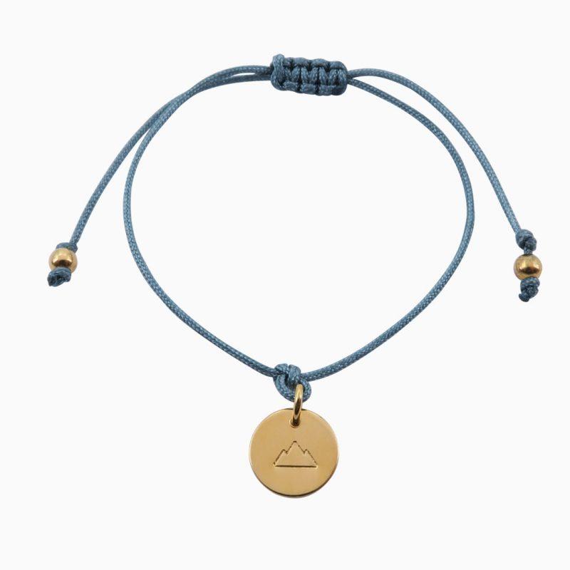 Mini-Bergfex Armband Vergoldet Lindgrün Kletterberg Webseite 2020