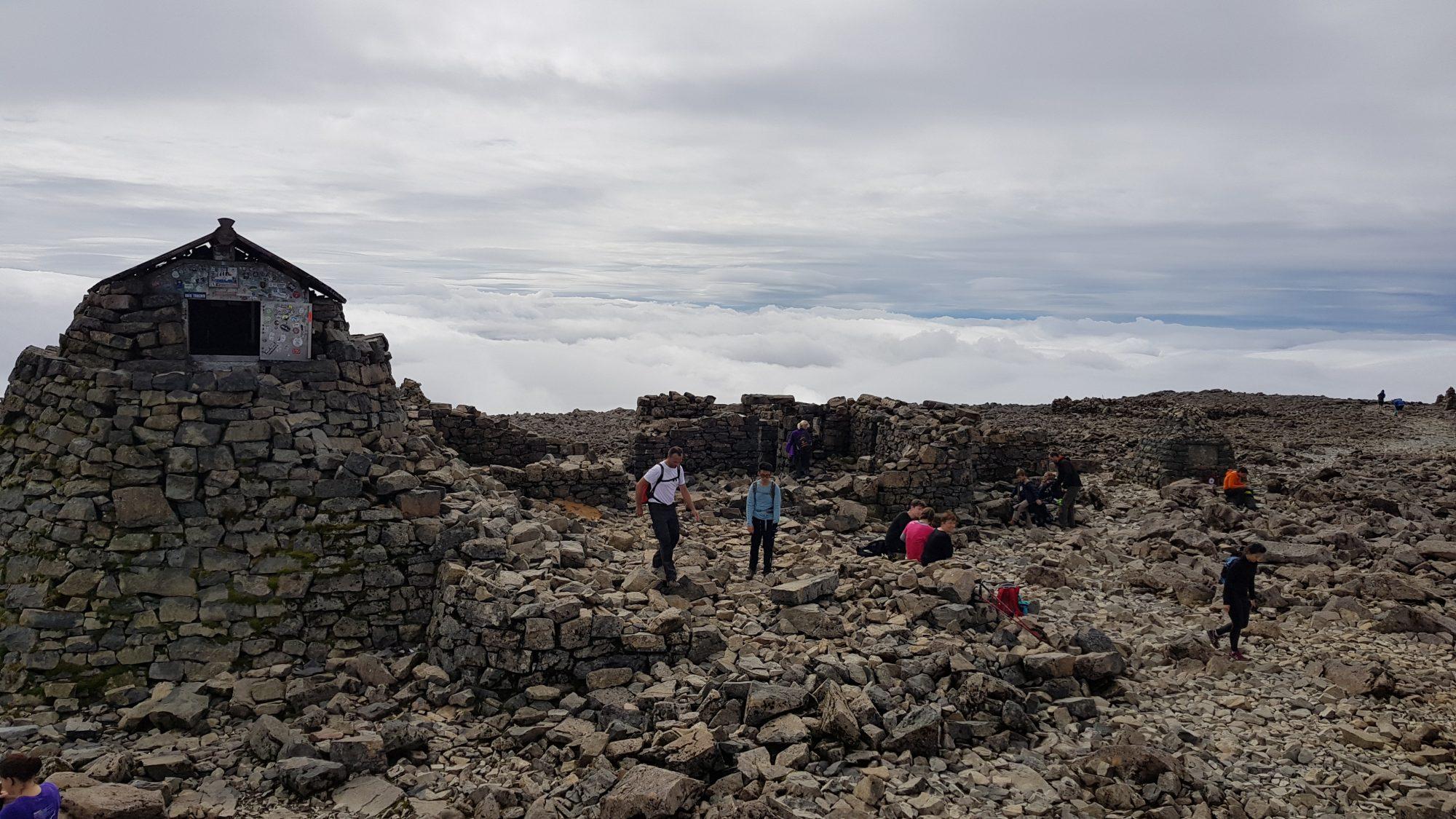 Ben Nevis, Besteigung, Schottland, Wanderung, Highlands