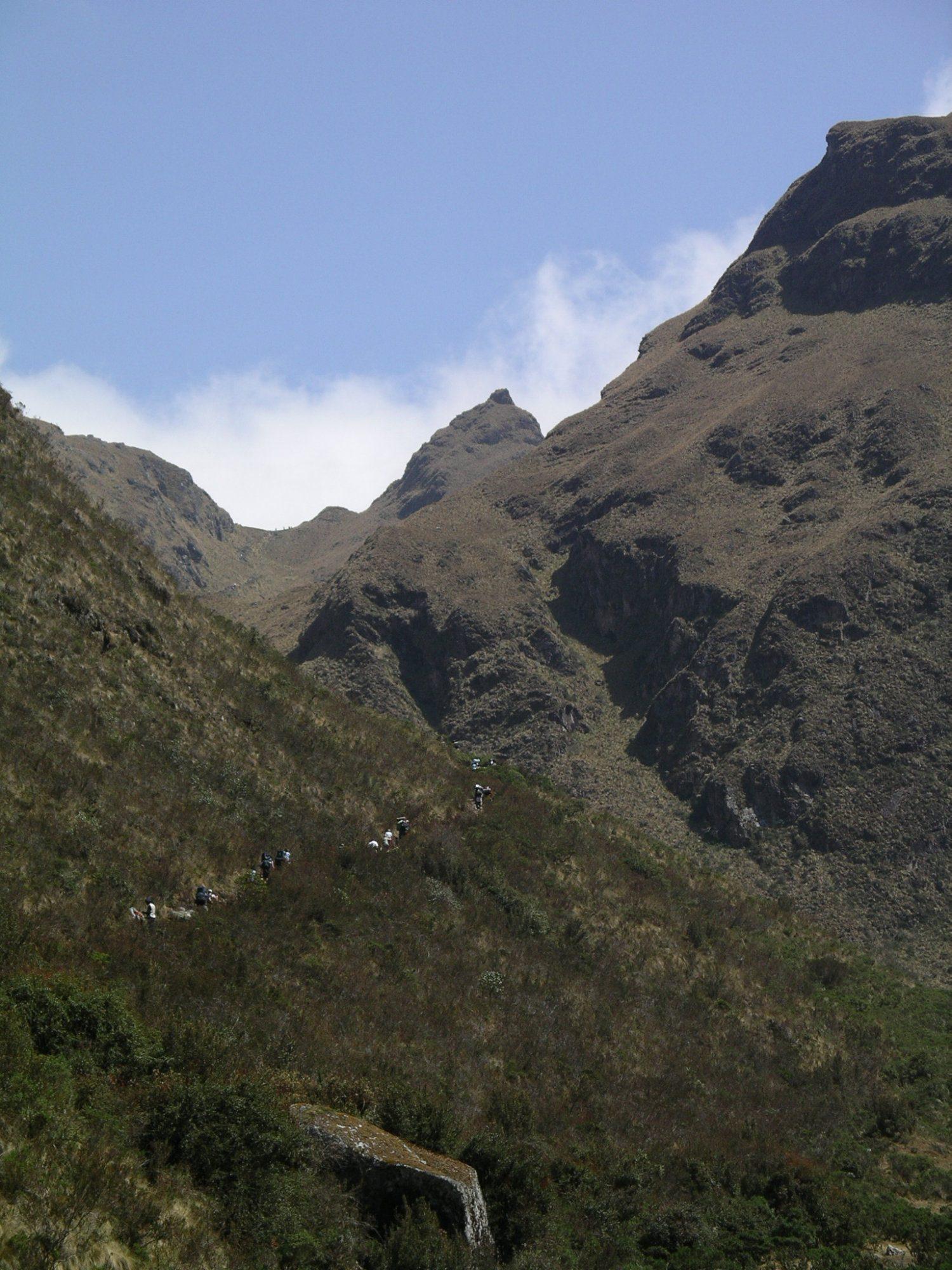 Inka Trail, Macchu Picchu, Anden, Peru