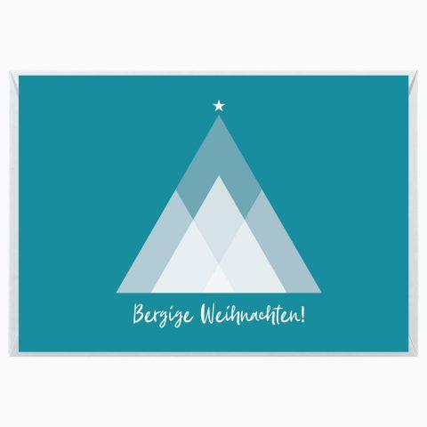 Bergsüchtig Grußkarte Weihnachten Webseite 2020