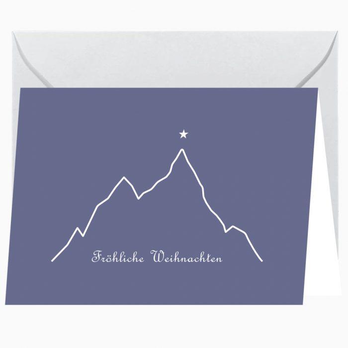 Gipfelstern Grußkarte Weihnachten Webseite 2 2020