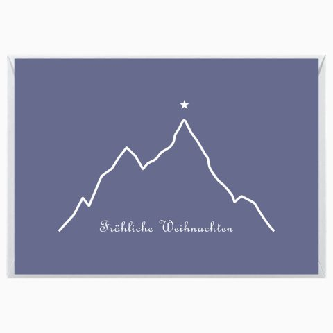 Gipfelstern Grußkarte Weihnachten Webseite 2020