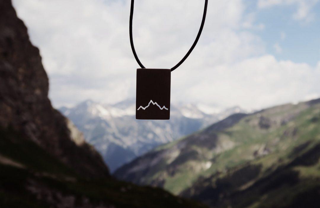Karree Kette Alpenblick Lederband Allgäu 2019