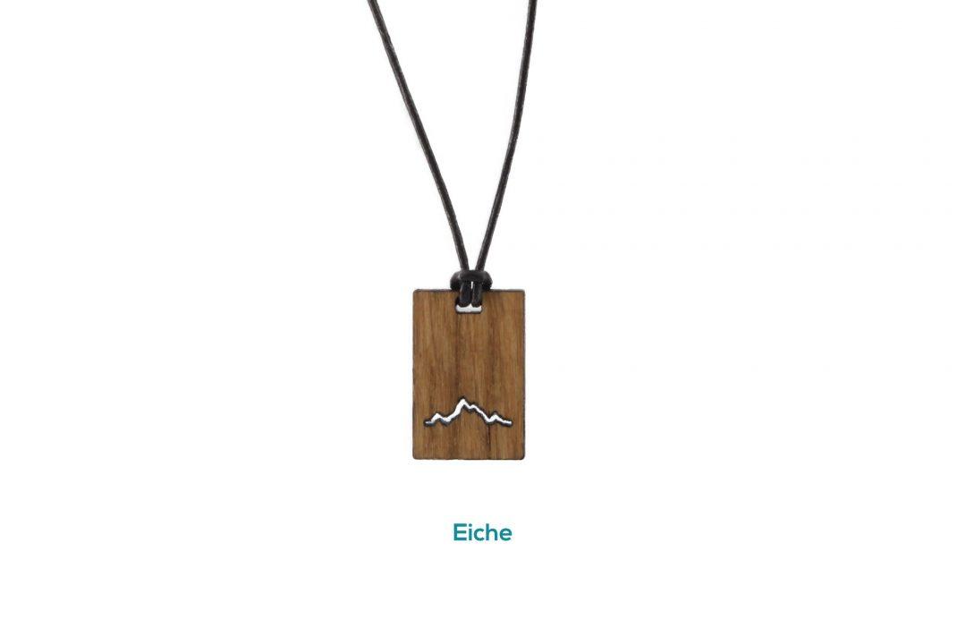 Fjella Karree Holzkette Eiche