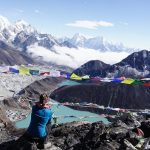 Nepal Everest Trek, Gokyo Ri, Gokyo Seen