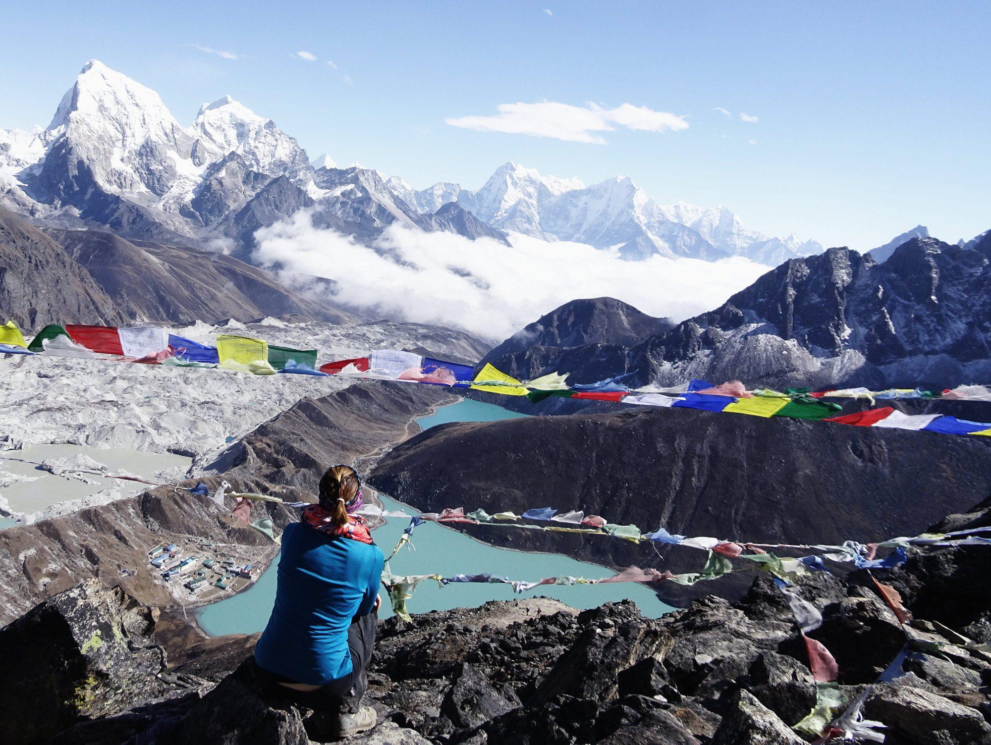 Nepal Everest Trek, Gokyo Ri, Gokyo Seen