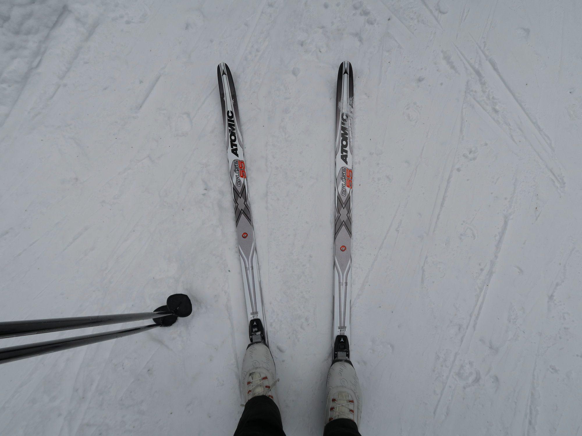 Langlaufskier, Kammloipe, Langlaufen im Vogtland, Ergebirge