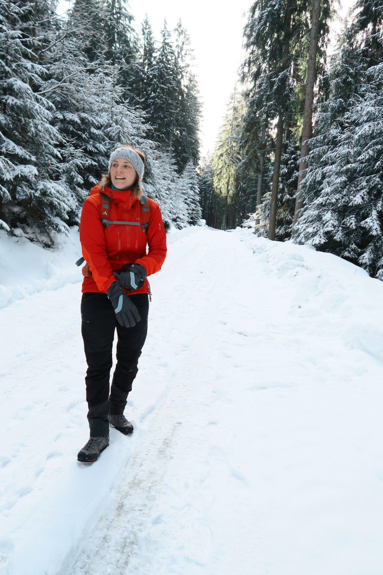 Auf geht's! Winterwandern im Vogtland, Felsenweg, Grünbach