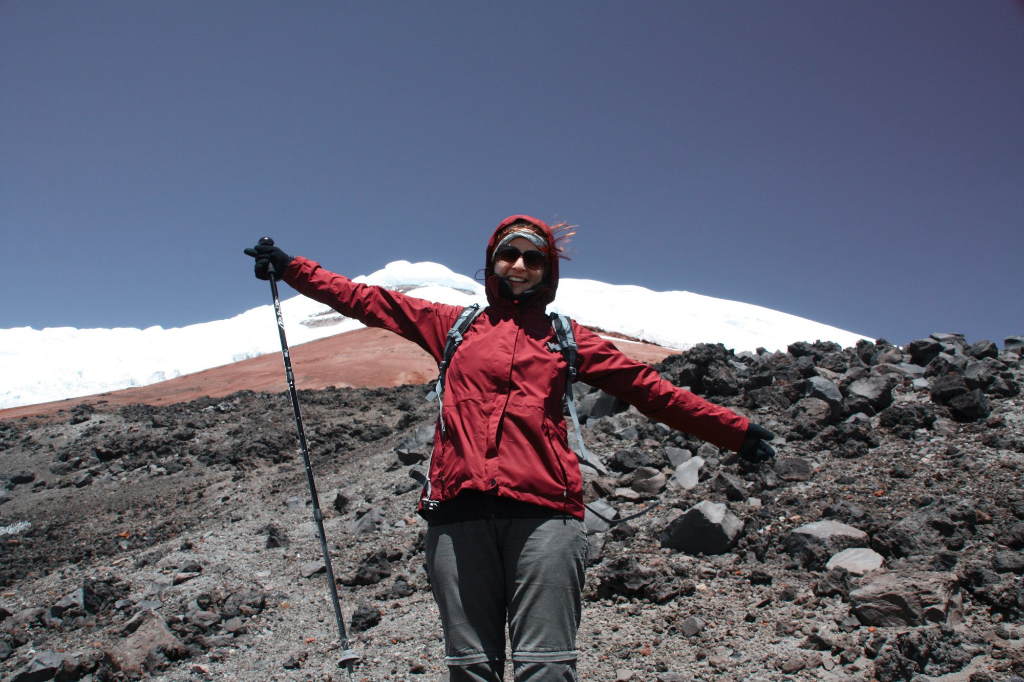 Cotopaxi, Ecuador, Warum die Berge glücklich machen, Bergglück