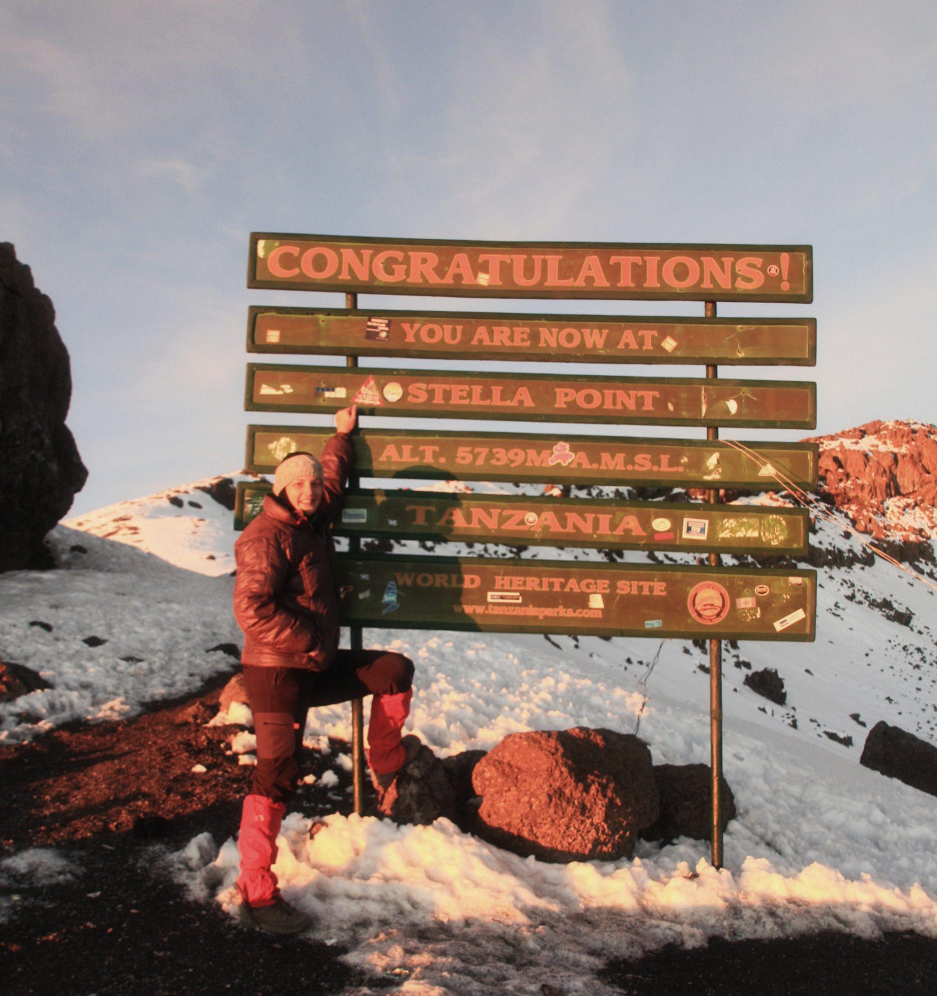 Warum die Berge glücklich machen, Bergglück, Tansania, Kilimanjaro, Stella Point