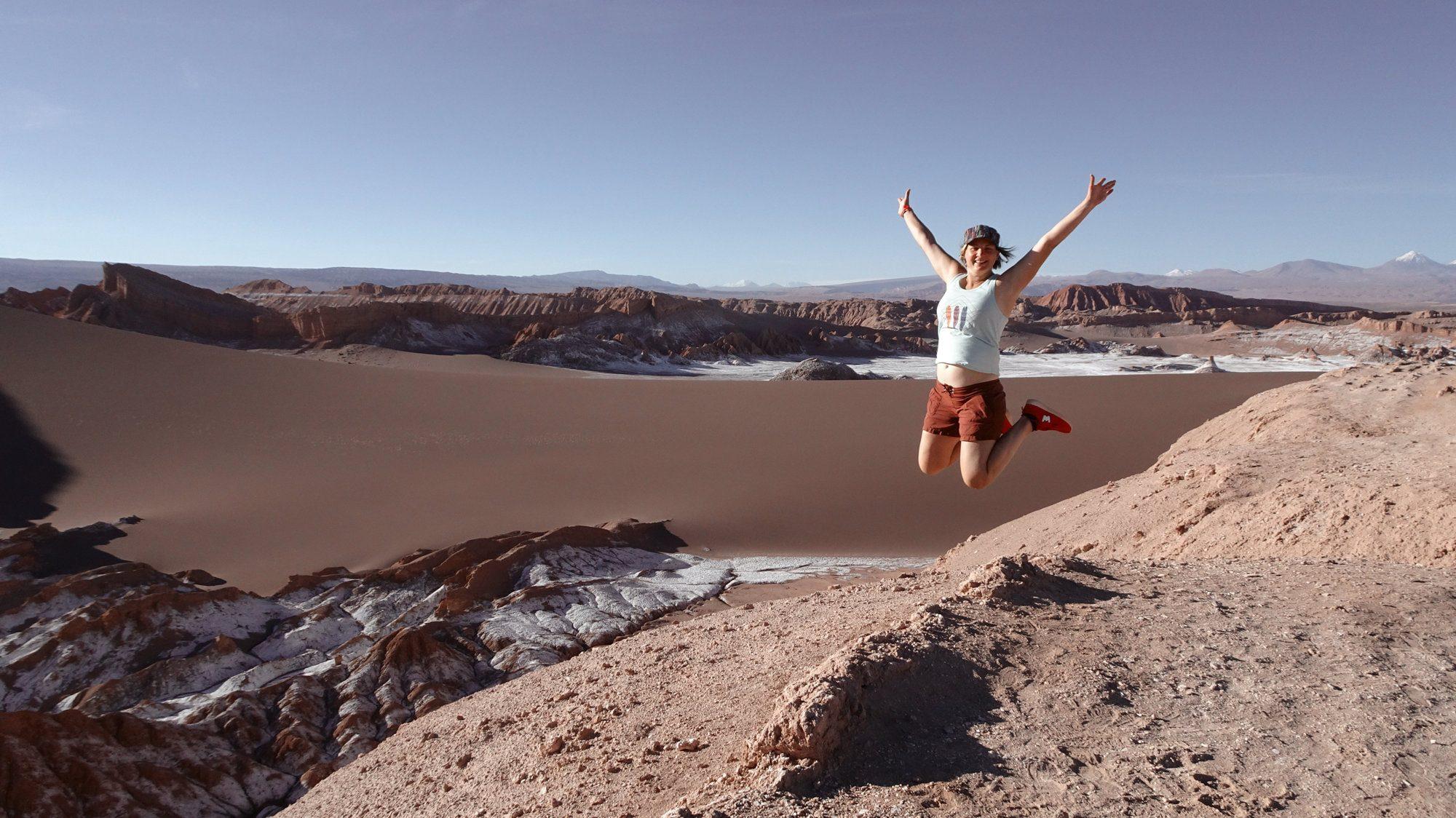 Atacama Wüste, San PEdro Warum die Berge glücklich machen, Bergglück