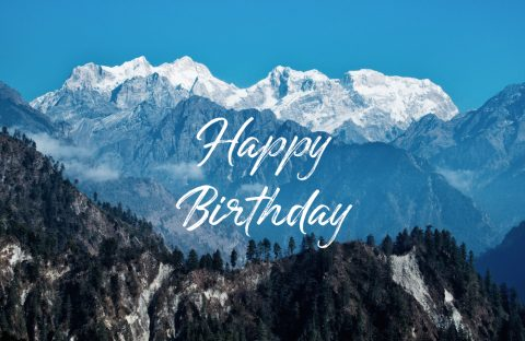 Fjella Geschenkgutschein Happy Birthday