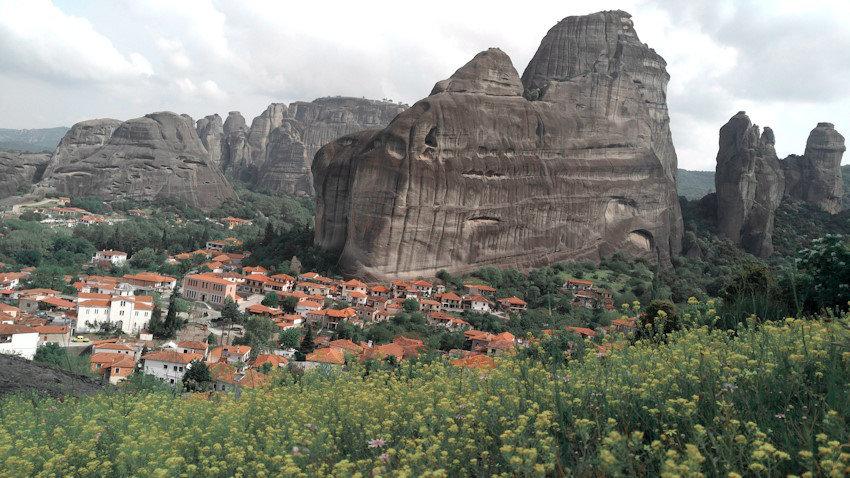 Meteora Felslandschaft, Wandern in Griechenland, Lieblingstour