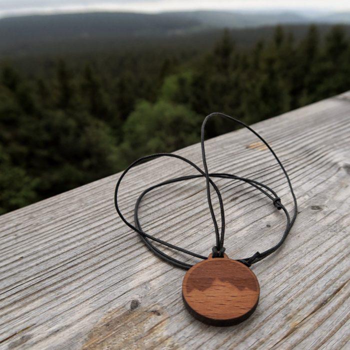 Alpenblick Holzkette Buche Rennsteig 2 Instagram