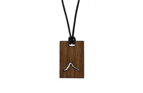 Fjella Karree Holzkette Matterhorn