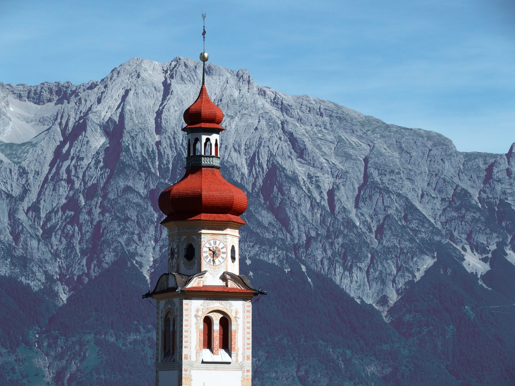 Hall, Alpenüberquerung Traumpfad Venedig-München Weitwanderung