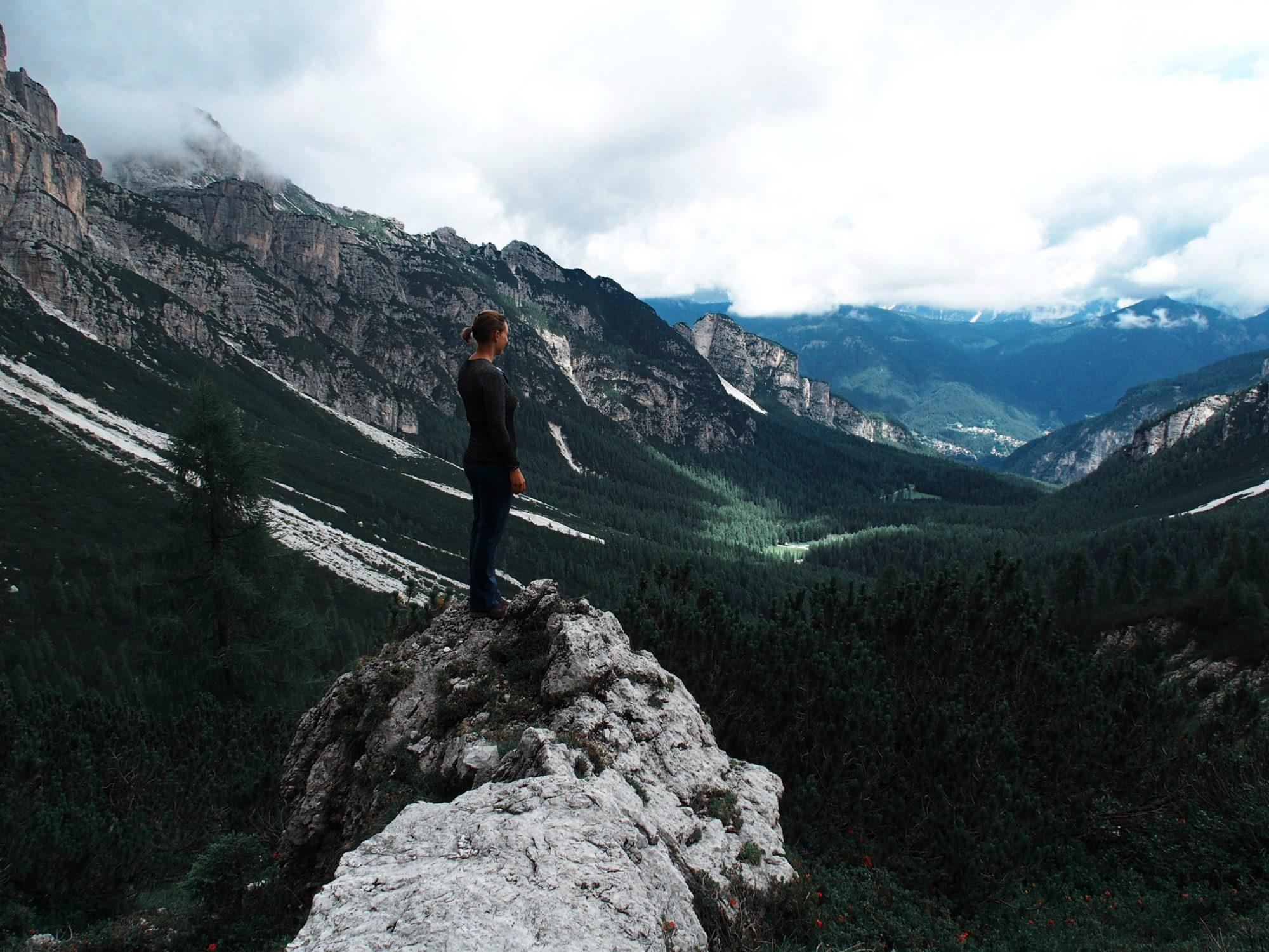 Schiara Klettersteig, Alpenüberquerung Traumpfad Venedig-München Weitwanderung