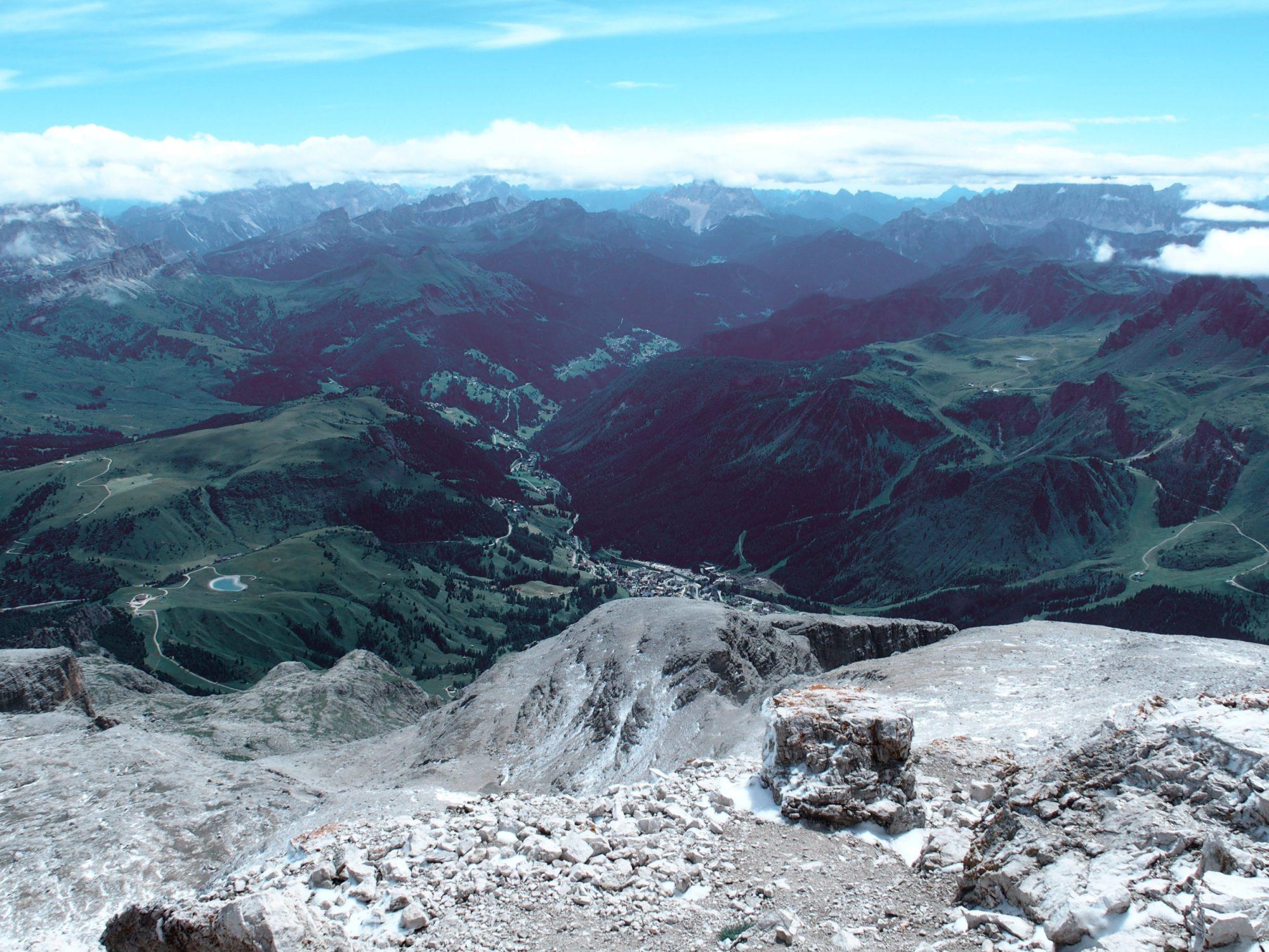 Piz Boé, Alpenüberquerung Traumpfad Venedig-München Weitwanderung