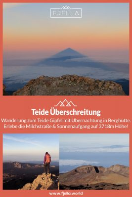 Fjella Teide Überschreitung Teneriffa Pinterest