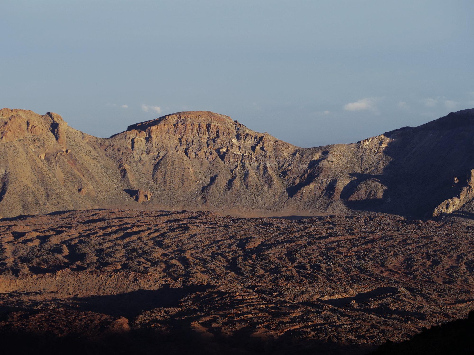 Caldera Kraterrand, Teide, Teneriffa