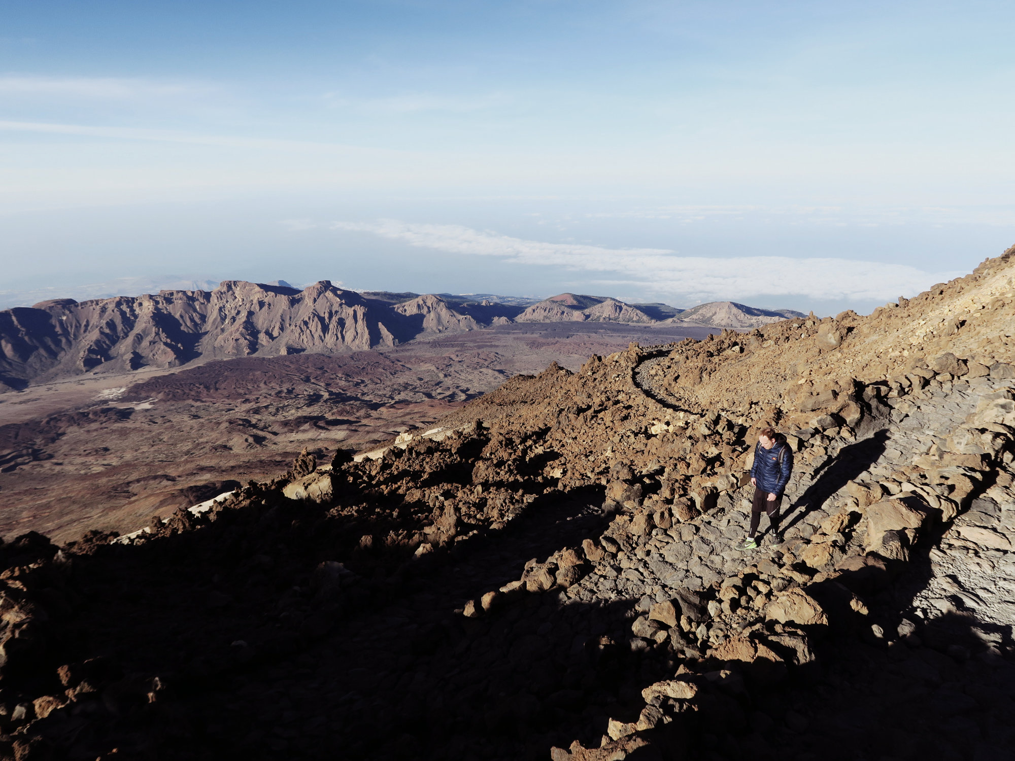Abstieg Richtung Pico Viejo