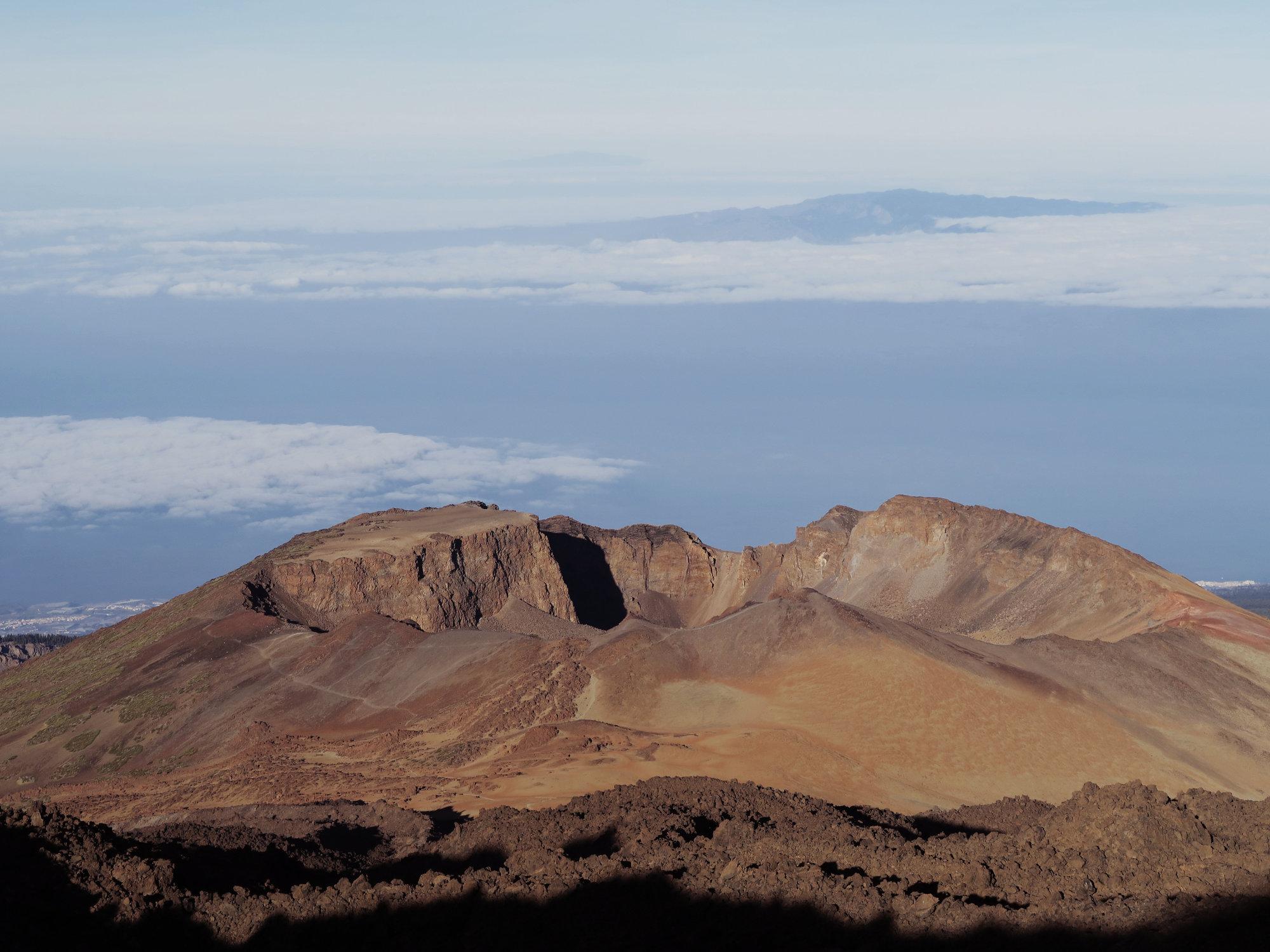 Pico Viejo und La Gomera