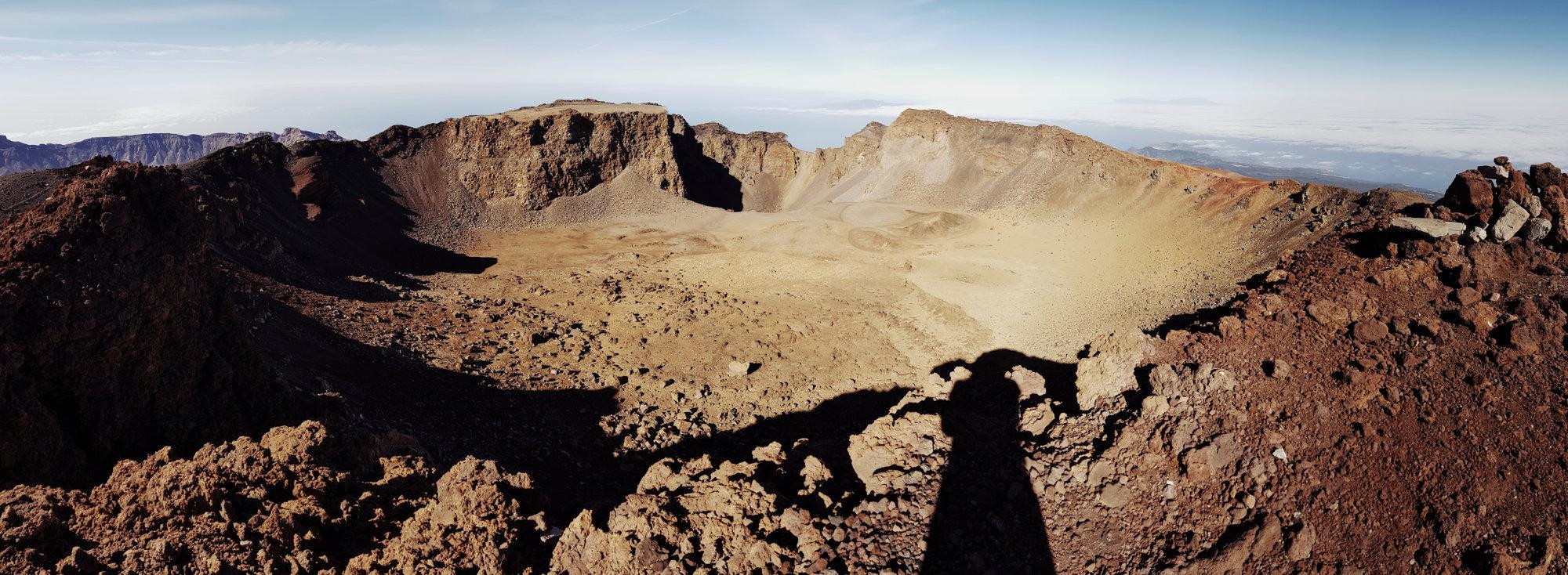 Der beeindruckende Pico Viejo Krater