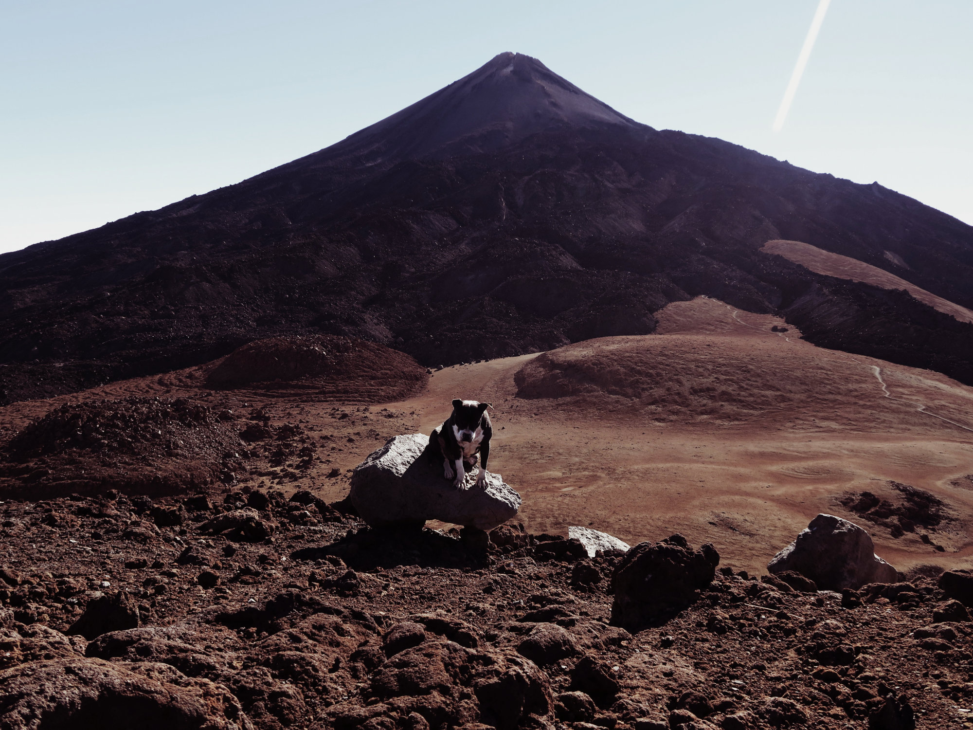 Teide Gipfel in Sicht