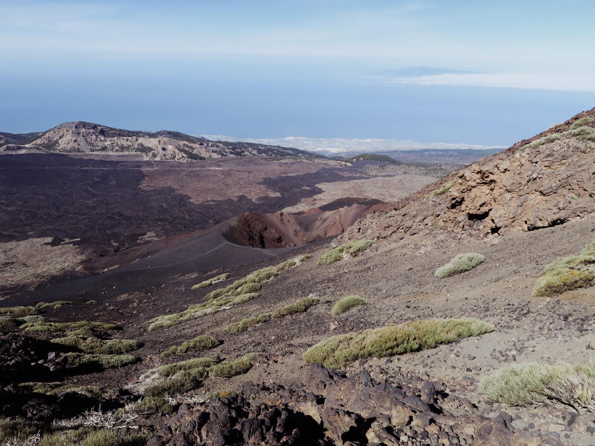 Auf dem Weg zu den Narices del Teide