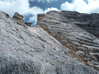 Hüttenwanderungen in den Alpen, Karwendel Hüttentour Birkarspitze