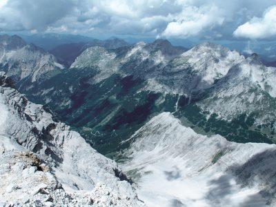 Karwendel Hüttentour Birkarspitze
