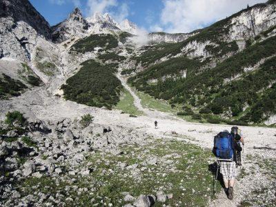 Hüttenwanderung Zugspitze durchs Reintal