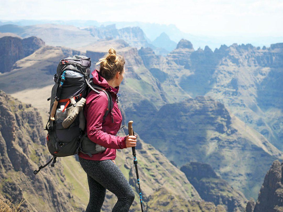 Trekking in den Drakensbergen, Interview mit Fräulein Draußen