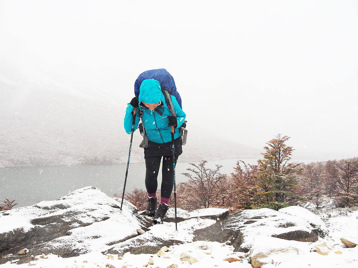 Trekking in Patagonien, Fräulein Draußen