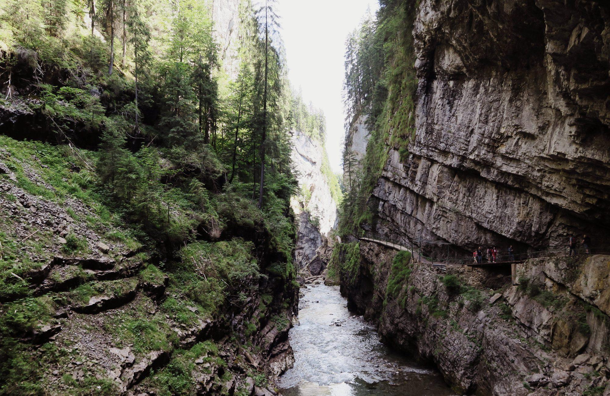 Breitachklamm Kleinwalsertal Wanderung