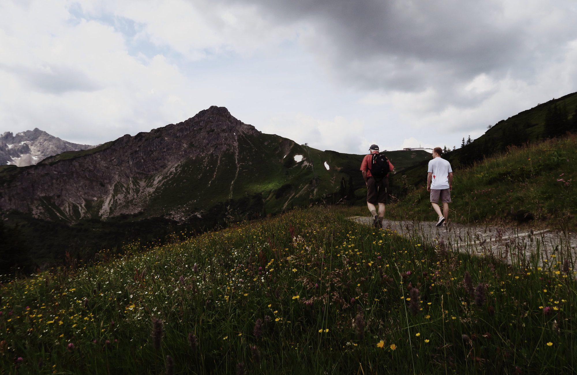 Fellhorn Wanderung Kleinwalsertal