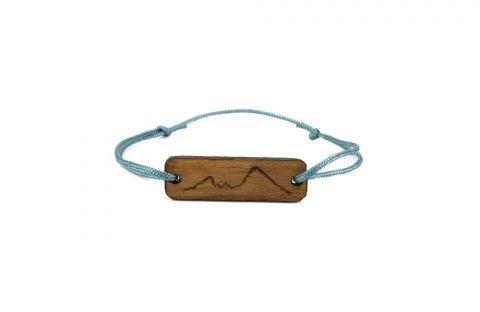 Watzmann Holzarmband, Armband, Bergschmuck, Holzschmuck, Berge