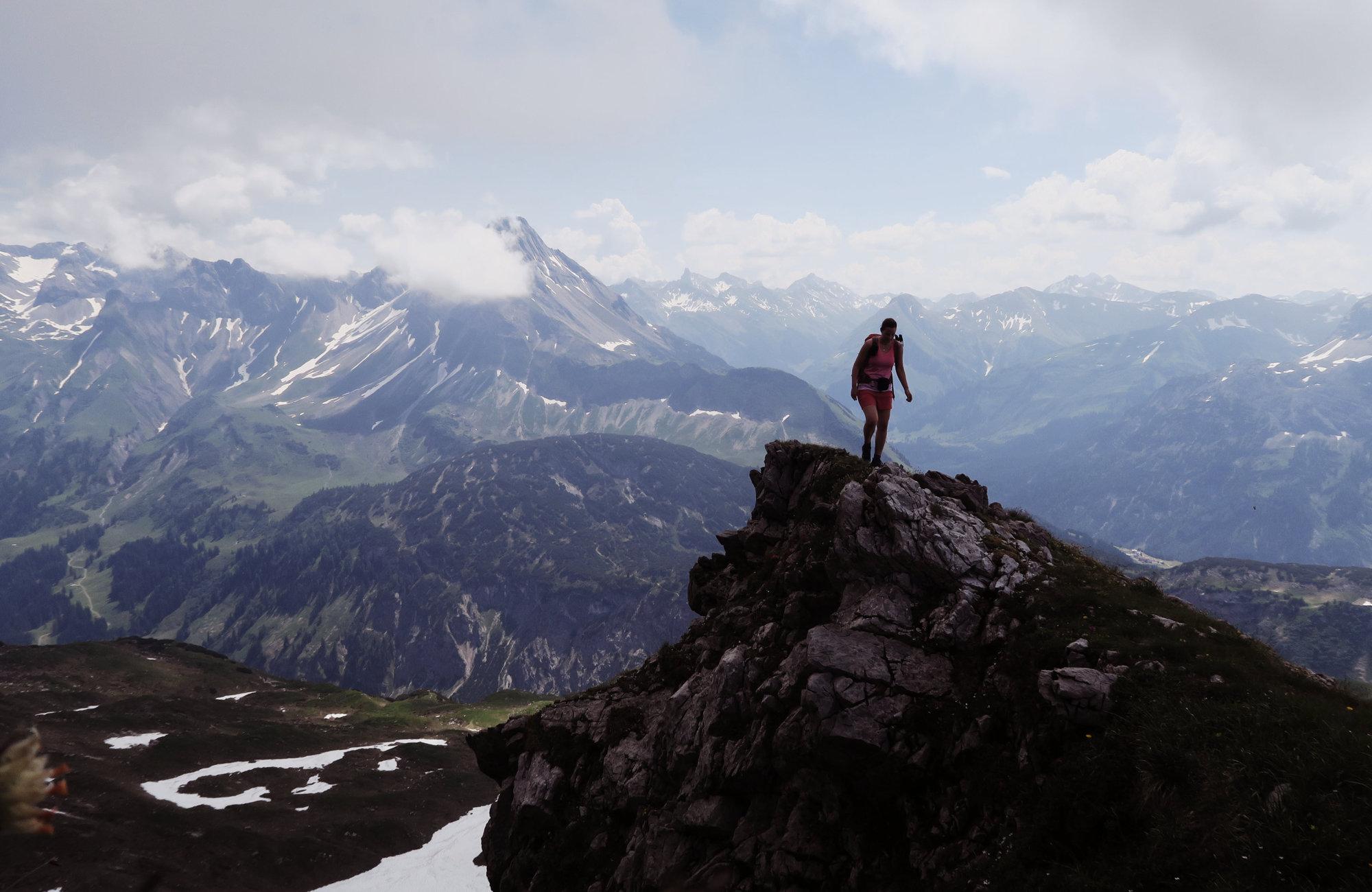 Gemsteltal Geißhorn Wanderung Kleinwalsertal