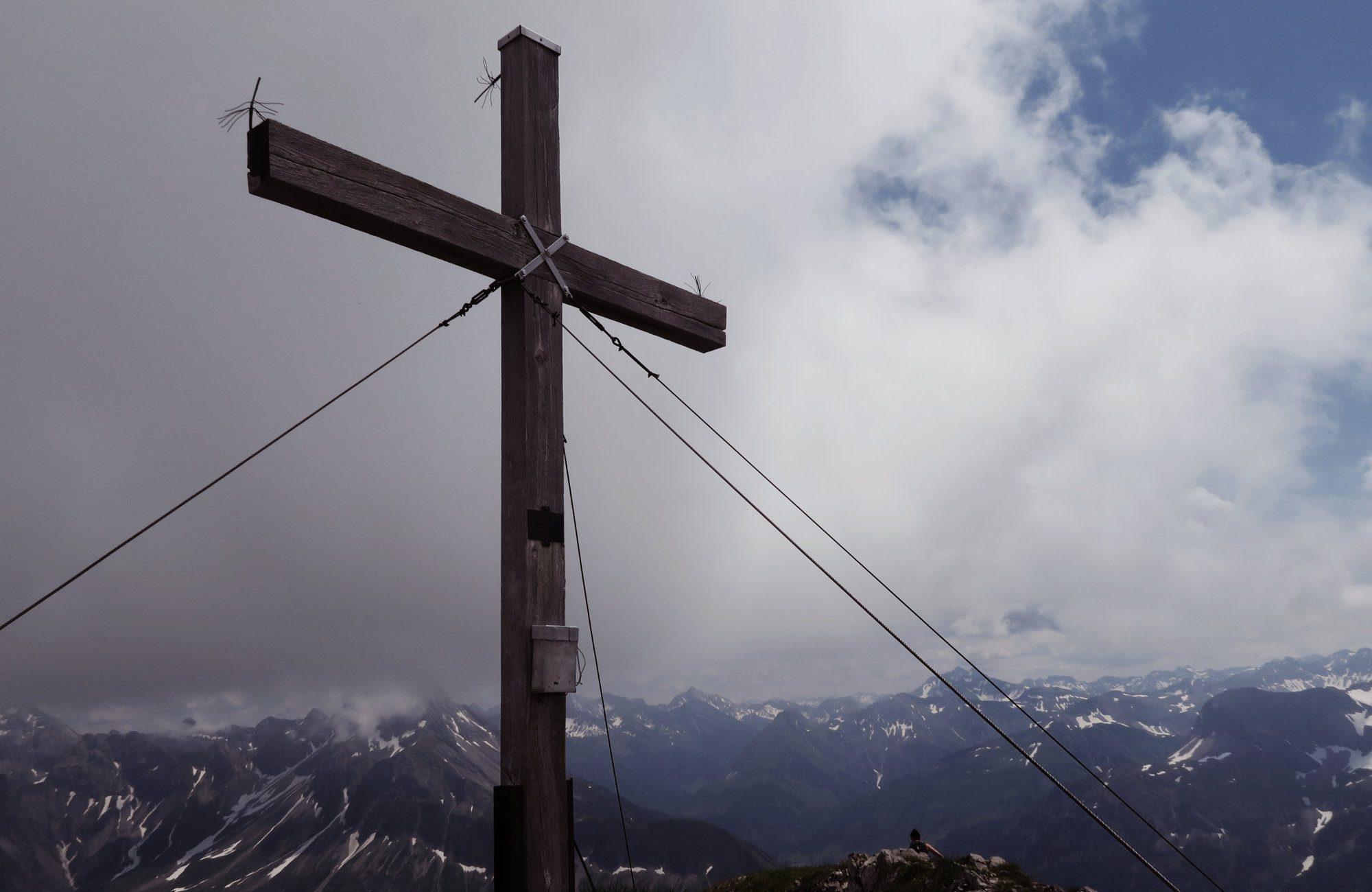 Gipfel des Geißhorn