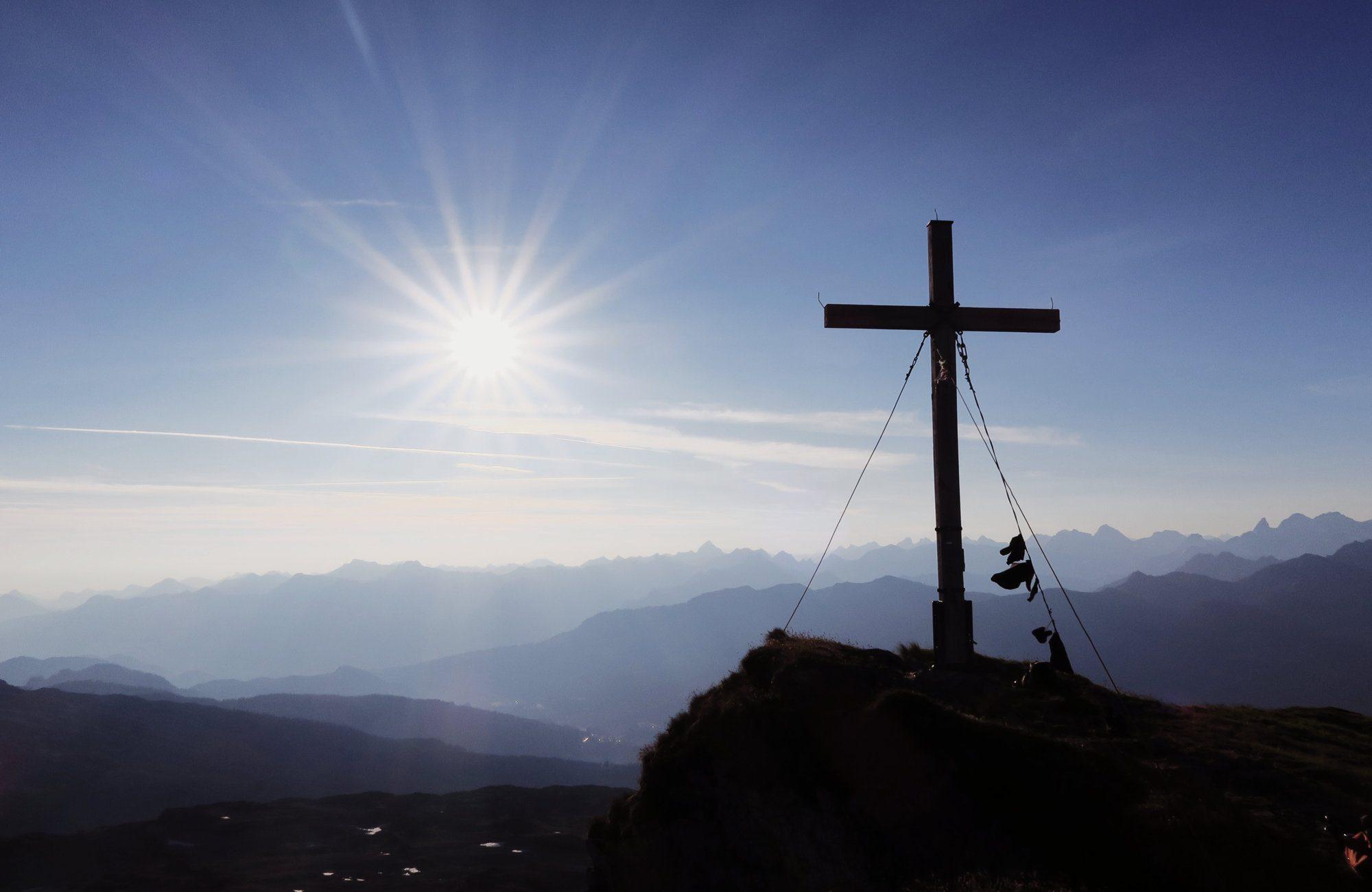 Gipfel des Hohen Ifen, Kleinwalsertal