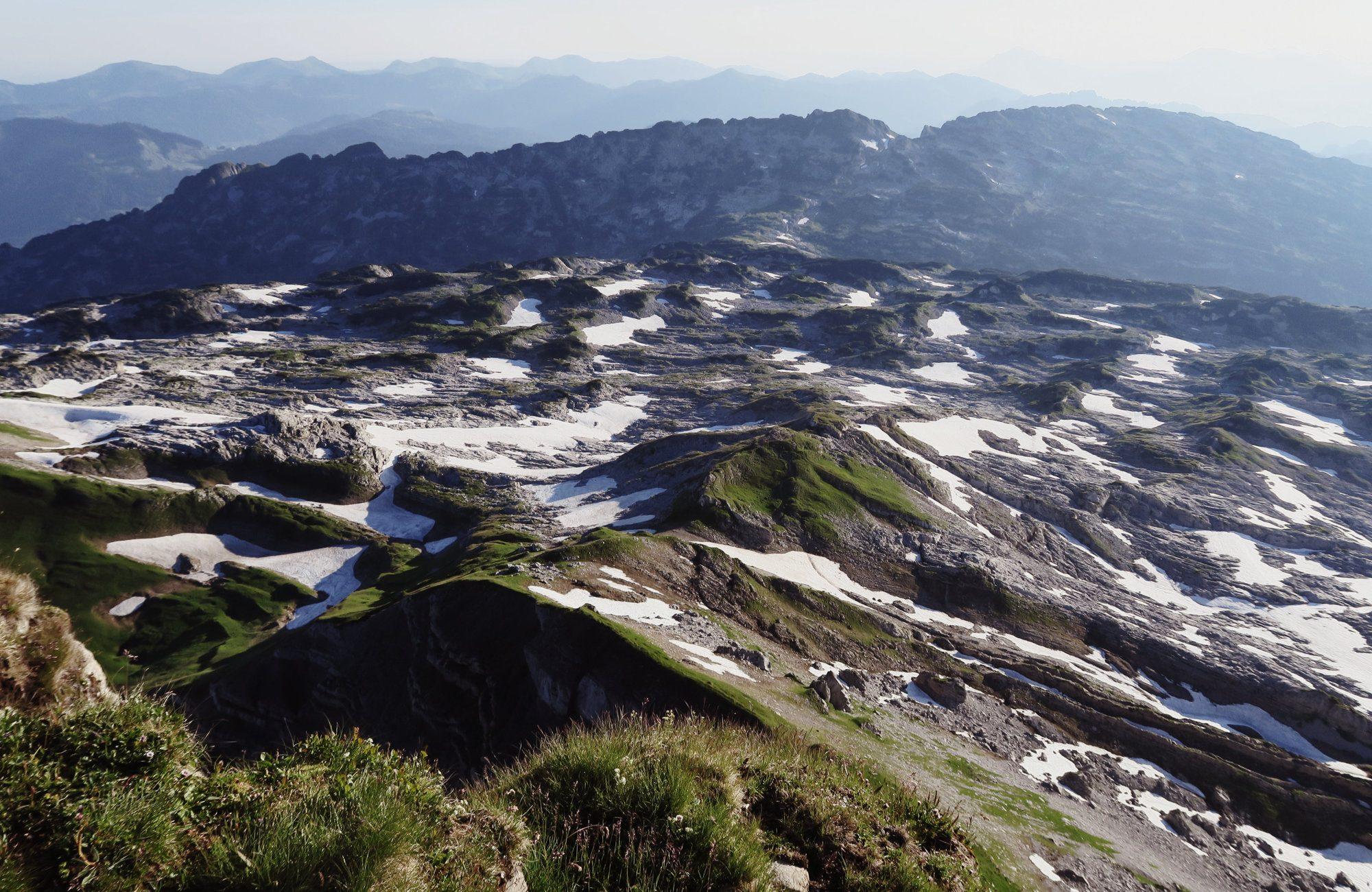 Gottesackerplateau des Hohen Ifen, Kleinwalsertal, Wanderung, Wandertour