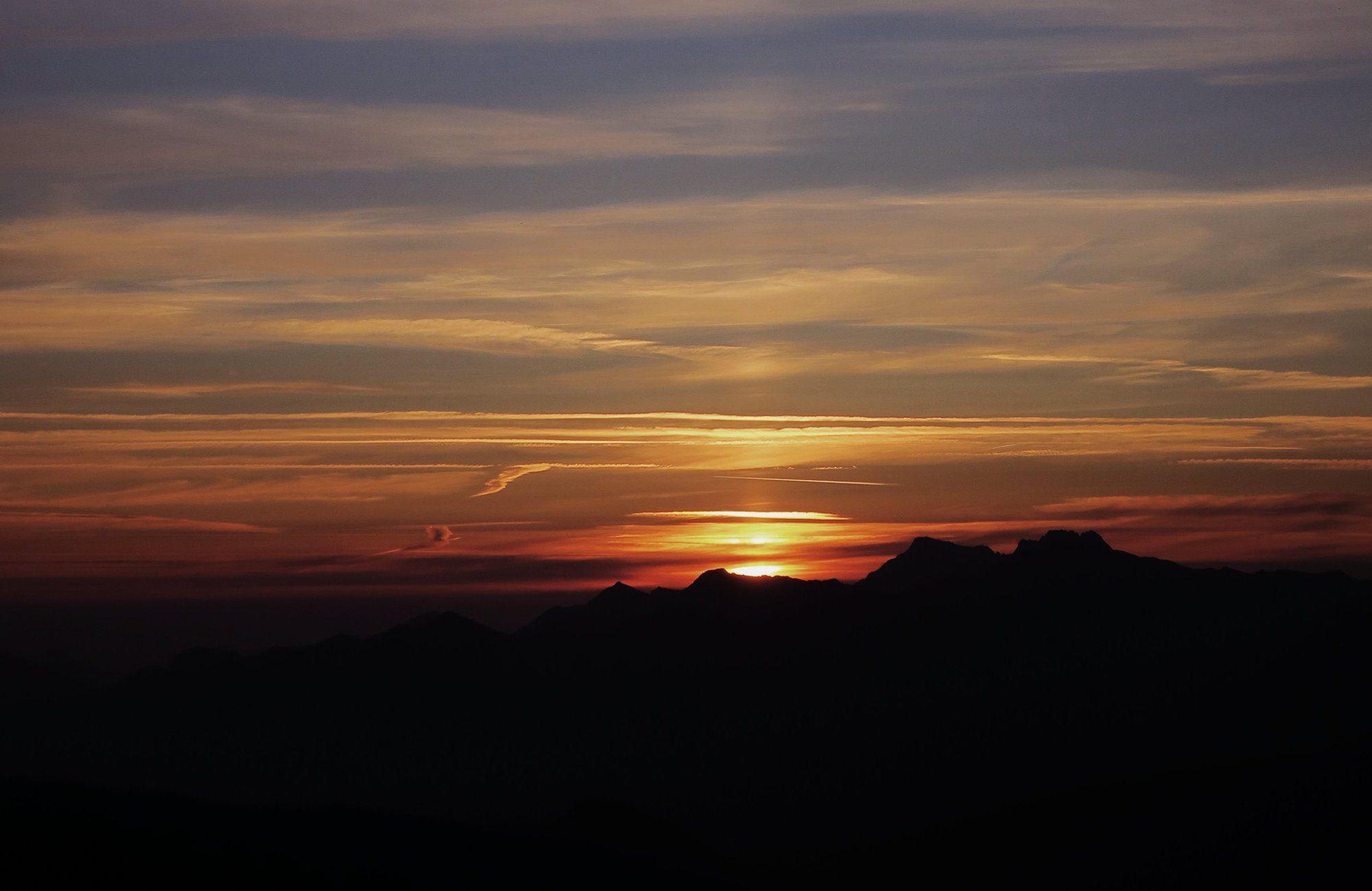 Hoher Ifen Wanderung zum Sonnenaufgang Kleinwalsertal