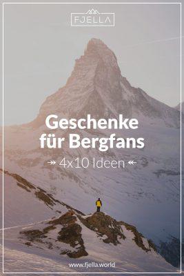 4x10 Geschenke für Bergfans Pinterest 2020