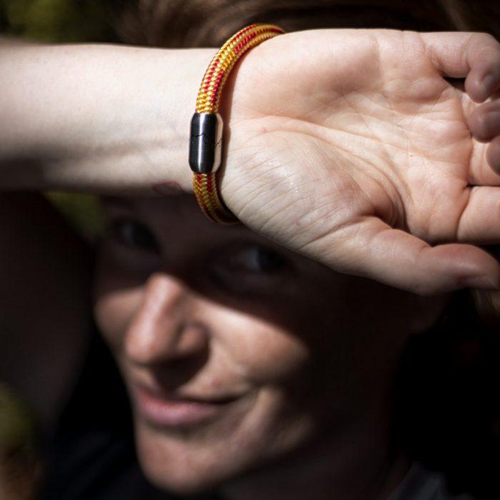 Bergseil Armband Einfachseil Murmeltier Model